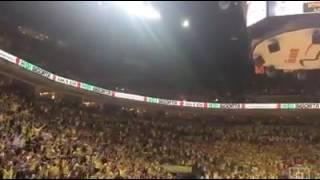 Fenerbahçe Pana izmir marşı ile uğurluyoruz.