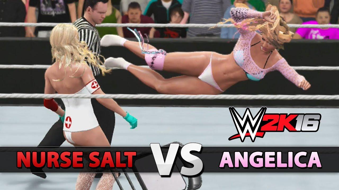 WWE 2K16 - CAW Diva Ma...