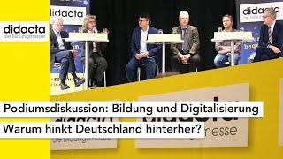 Podiumsdiskussion Bildung Und Digitalisierung   Medientag Didacta 2020