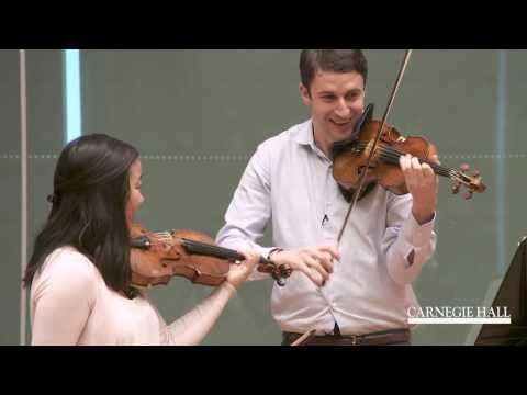 Berliner Philharmoniker Violin Master Class: Mozart, Symphony No. 40