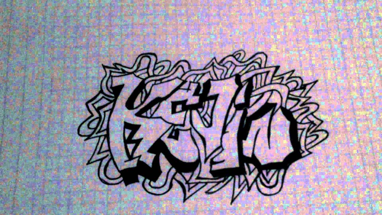 Graffiti nombre kevin