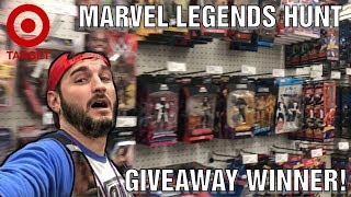 Toy Hunting VLOG: Marvel Legends hunt and Giveaway winner announced!