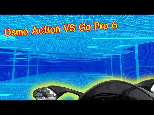 ขี่ R1M ลองกล้อง Osmo Action (Osmo Action comparison with Go Pro Hero 6)