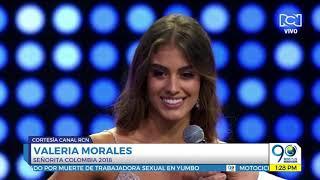Octubre 1 2018 ¡Valle tiene reina! Valeria Morales es la nueva Señorita Colombia 2018