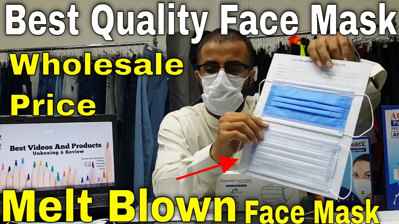 Best Quality Face Mask with Melt Blown Filter || Surgical Face Mask with melt Blown || Kn95 Mask