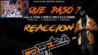 Video Y Que Paso? (Tiraera pa Anuel Aa) - El Dominio x Jamby El Favo x Joniel - REACCION download MP3, 3GP, MP4, WEBM, AVI, FLV Agustus 2018