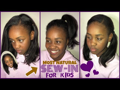 Most Natural Sew In For Kids Very Detailed Youtube