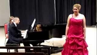 Heidi Zentz - Trois poèmes de Stéphane Mallarmé (Ravel)