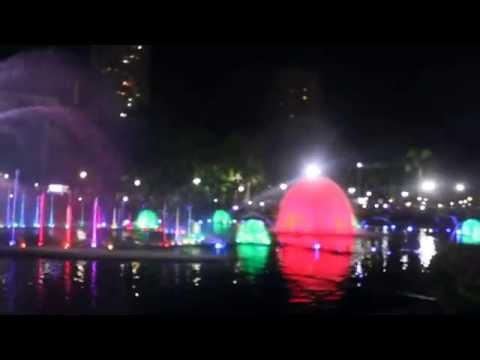 The Most Beautiful Fountain in the World found at Rizal Park Philippines