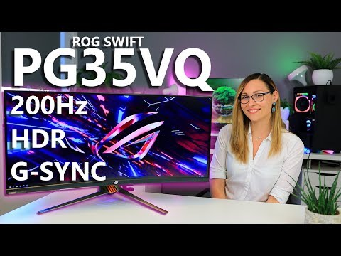 Is this the Ultimate Gaming Monitor? - ASUS ROG Swift PG35VQ - YouTube