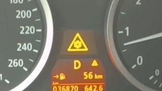 BMW E60 5 SERIES  ЧТО ПРОИСХОДИТ КОГДА ТЕМПЕРАТУРА НА УЛИЦЕ  НИЖЕ +3 C.