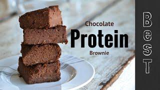 Best Protein Chocolate Brownie