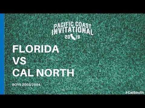 Florida vs. Cal North: Pacific Coast Invitational (Boys 2003/2004)