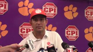 TigerNet.com - Dabo Swinney post Ga Tech