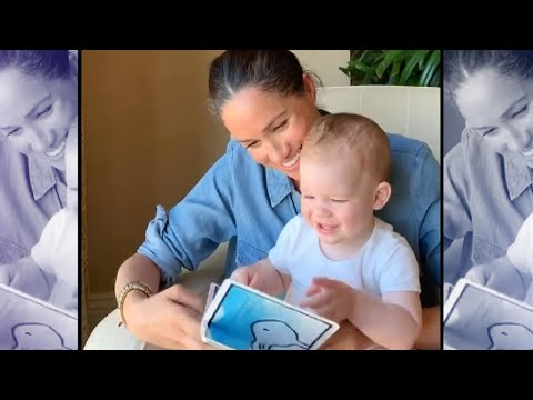 Meghan Markle's Son Archie Shows Off His BIG Personality in Rare Video