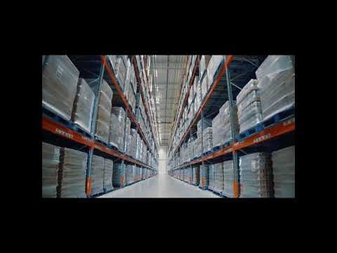 Warehouse steel racking system
