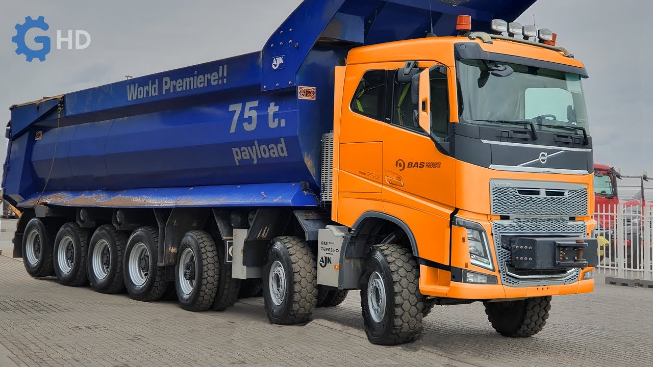The Most Impressive and Powerful Volvo Trucks You Have to See Part 2 ▶ 375 Ton Crane Truck