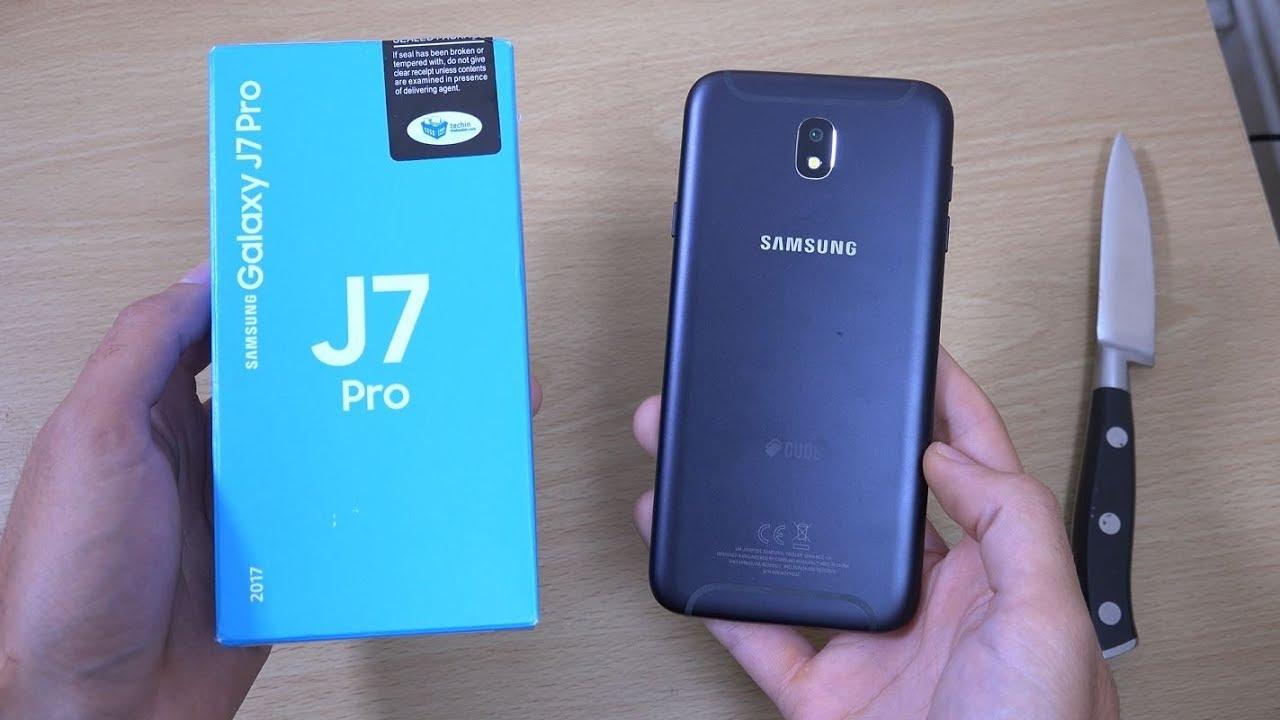 Samsung Galaxy J7 Pro - Unboxing (4K) - YouTube