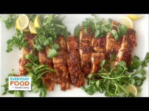 Salmon With Brown Sugar And Mustard Glaze - Everyday Food With Sarah Carey