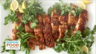 Salmon With Brown Sugar And Mustard Glaze - Everyday Food With Sarah Carey