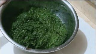 طريقة تخزين الملوخيه الخضرا  في الفريزر لمدة عام كامل بدون ما تغمق ولا طعمها يغير ابدا وتفضل خضرا