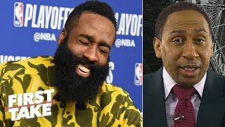 Download Stephen A.'s sources deny locker room fight between Harden and Chris Paul after Game 6 | First Take Mp3 and Videos