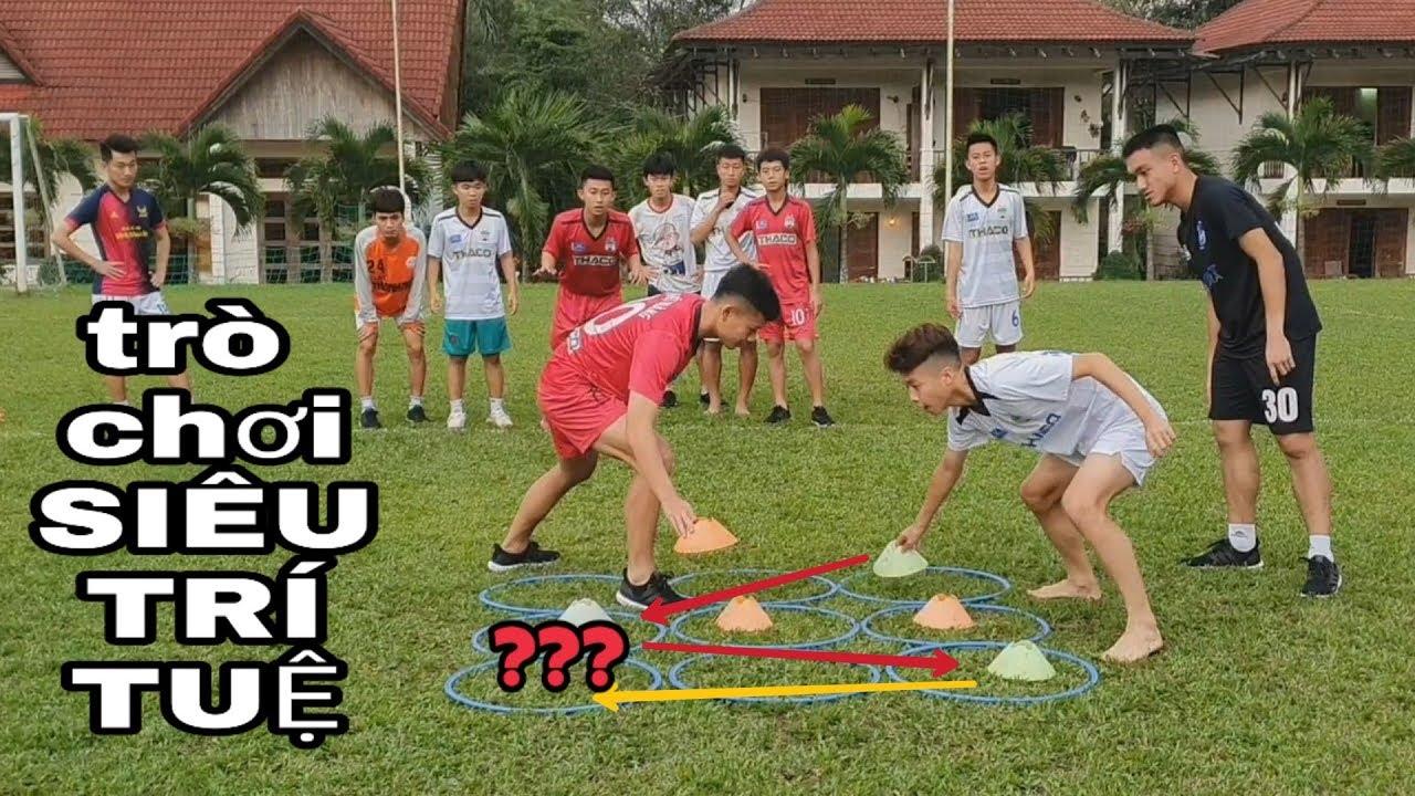 NamPt – Thử thách trò chơi 'siêu trí tuệ' cùng cầu thủ HAGL| 24h Hagl| Tic tac toe game