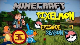 Minecraft: Pixelmon - Эпизод 1 - Новый, пятый сезон (Pokemon Mod)(, 2015-01-07T14:47:26.000Z)