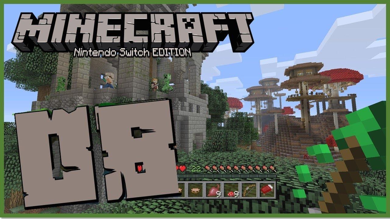 Minecraft Nintendo Switch Edition Minecraft Spielen Mit Einem - Minecraft spiele youtube