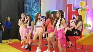Andrea, Kira, Loisa, Maris and Ylona (BFF5) on ASAP Chill Out #ASAP22