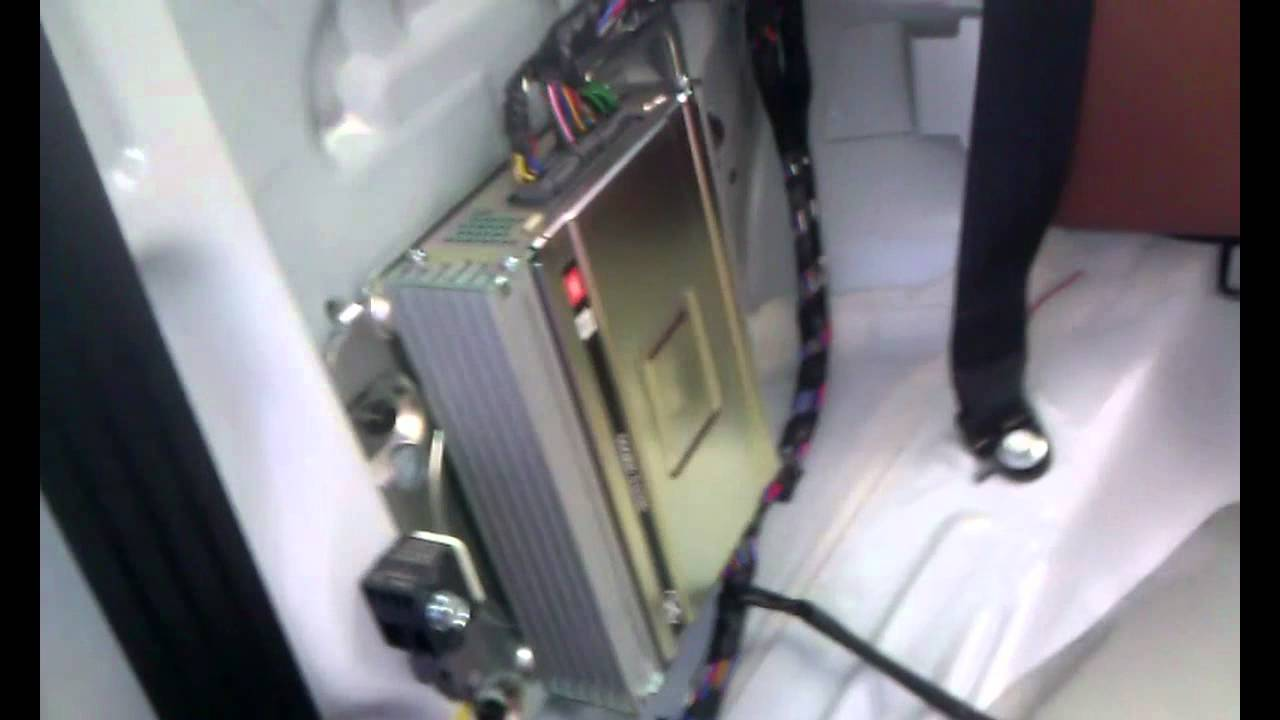 hight resolution of 2011 hyundai genesis jbl amp location