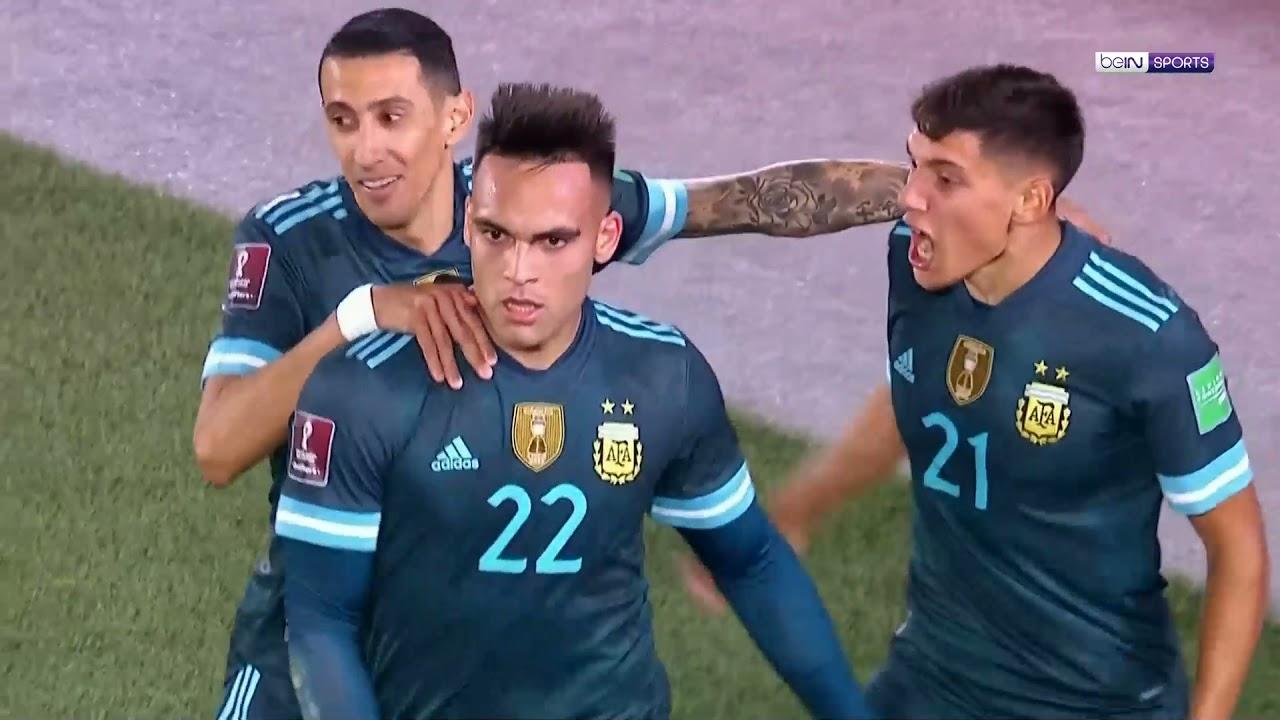 ▶️شاهد ملخص مباراة الأرجنتين وبيرو