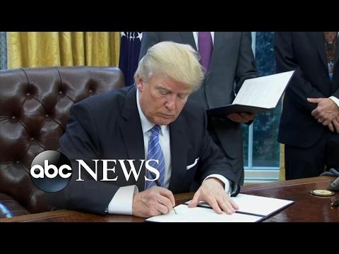 President Trump Pulls US From TPP