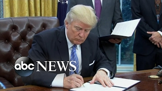 President Trump Pulls US From TPP