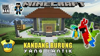 Kandang Buat Si Parrot - MCPE - Minecraft Survival Indonesia 43