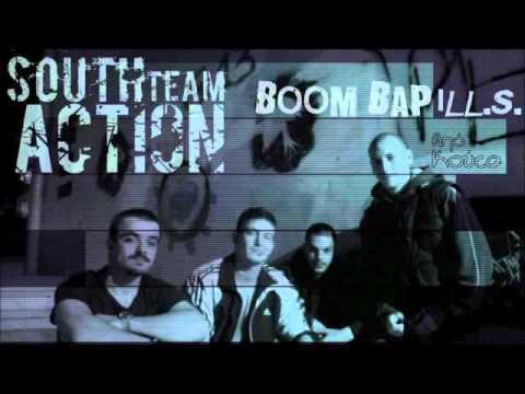 South Action Team - Boom bap ill.s. από κούτα LP (Full Album) (2015)