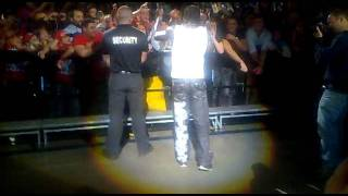 July 1 2011 -wwe raw tour 2011 sydney  R- Truth says sydney smells like doo doo