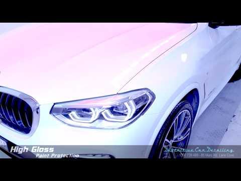 BMW X3 Alpine White Definitive Sydney Liquid Glass Ceramic Coating High Gloss Paint Protection Treat