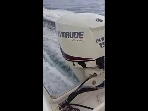 Evinrude 150 Etec installed by Marine Power Solutions Barbados Inc.