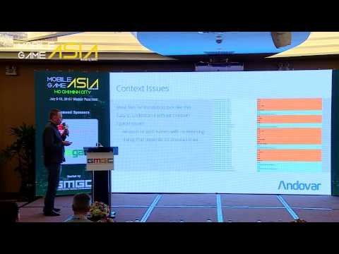 Andovar: How Game Genre Affects Localization - Mobile Game Asia 2015 Ho Chi Minh City