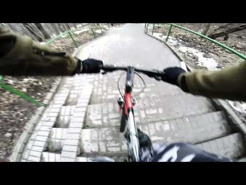 GoPro 3+ Black ~ Day with bike 1080p (superview) 48fps