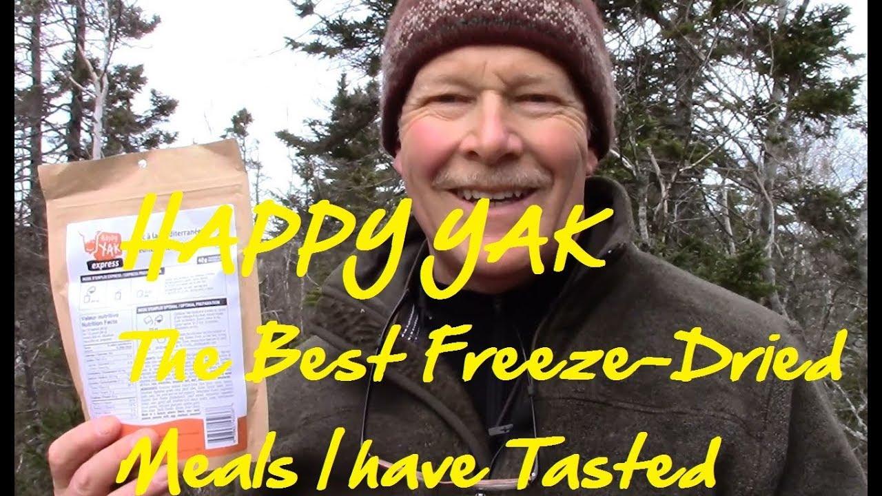 happy yak freeze dried food