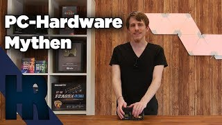 PC Hardware Mythen die falsch sind!