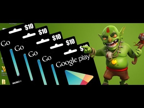 Closed] Clash of Clans GiveAway - 50$ google play store gift card ...