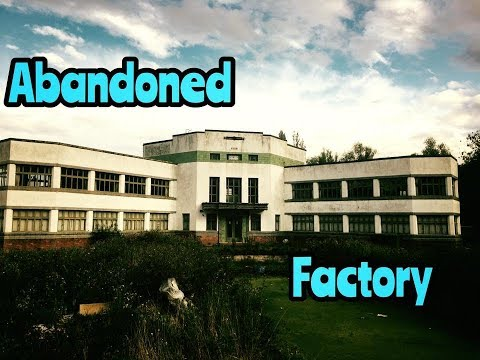 ABANDONED LEATHER FACTORY (WE FOUND A SECRET ROOM)