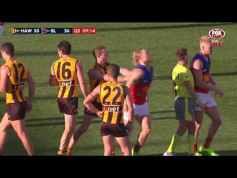 Round 8 AFL: Hawthorn v Brisbane Lions Highlights