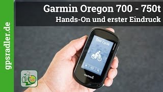 видео Garmin Oregon 750t