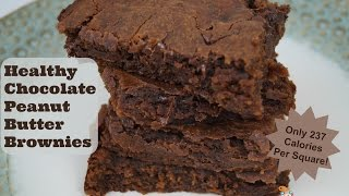 Chocolate Peanut Butter Brownies | Peanut Butter Series