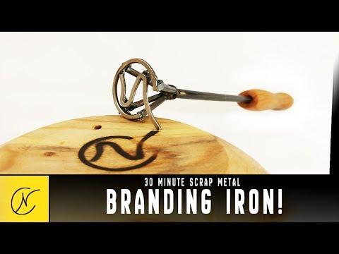 DIY Woodshop Branding Iron EASY!