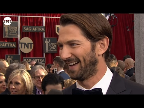 Michiel Huisman I SAG Awards Red Carpet 2016 I TNT